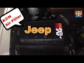 K&N Air Filter Install DIY - JEEP Cherokee KJ / Jeep Liberty KJ Limited 3.7 V6 2006