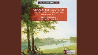 Violin Concerto No. 3 in A Major, G. 25: II. Adagio