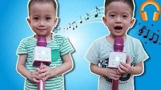 Trò Chơi Karaoke Bé Lim Lạc Tập Hát Tiếng Anh Karaoke Gia Đình Baby Shark