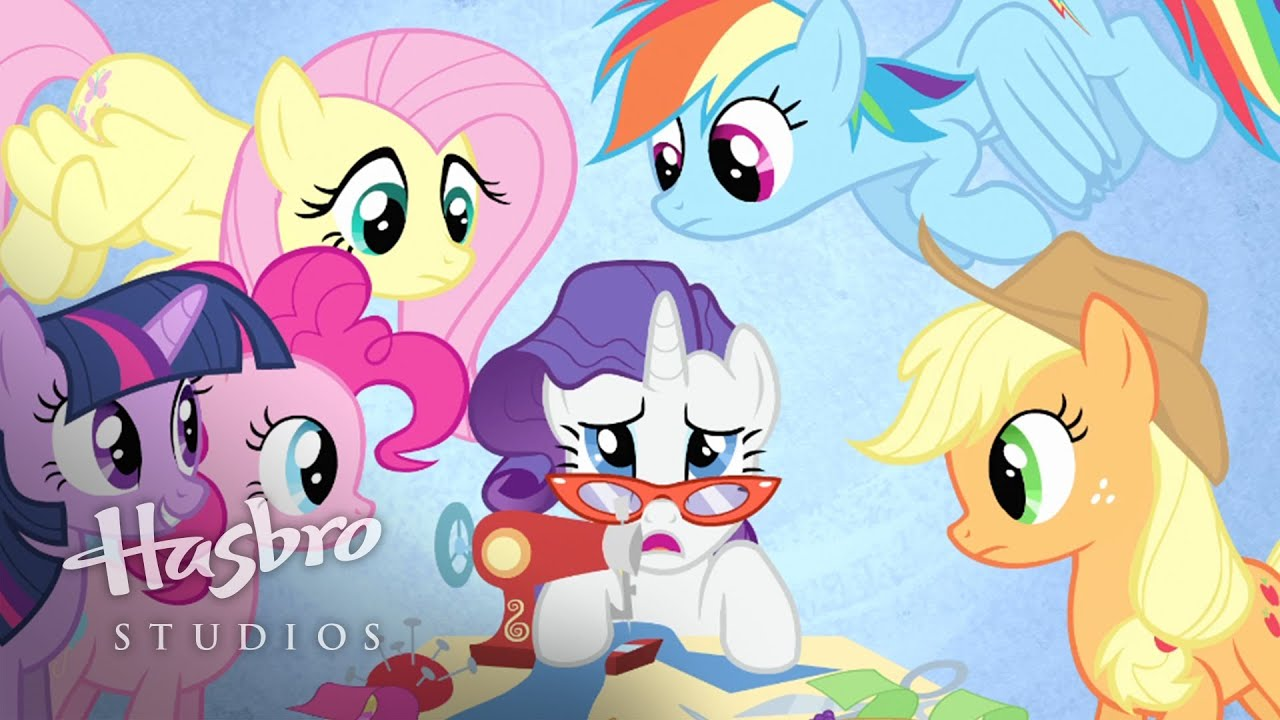 Mlp friendship is magic the art of the dress music video youtube for Little pony watches