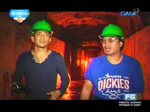 AHA: Drew Arellano explores Fort Bonifacio's underground war tunnel