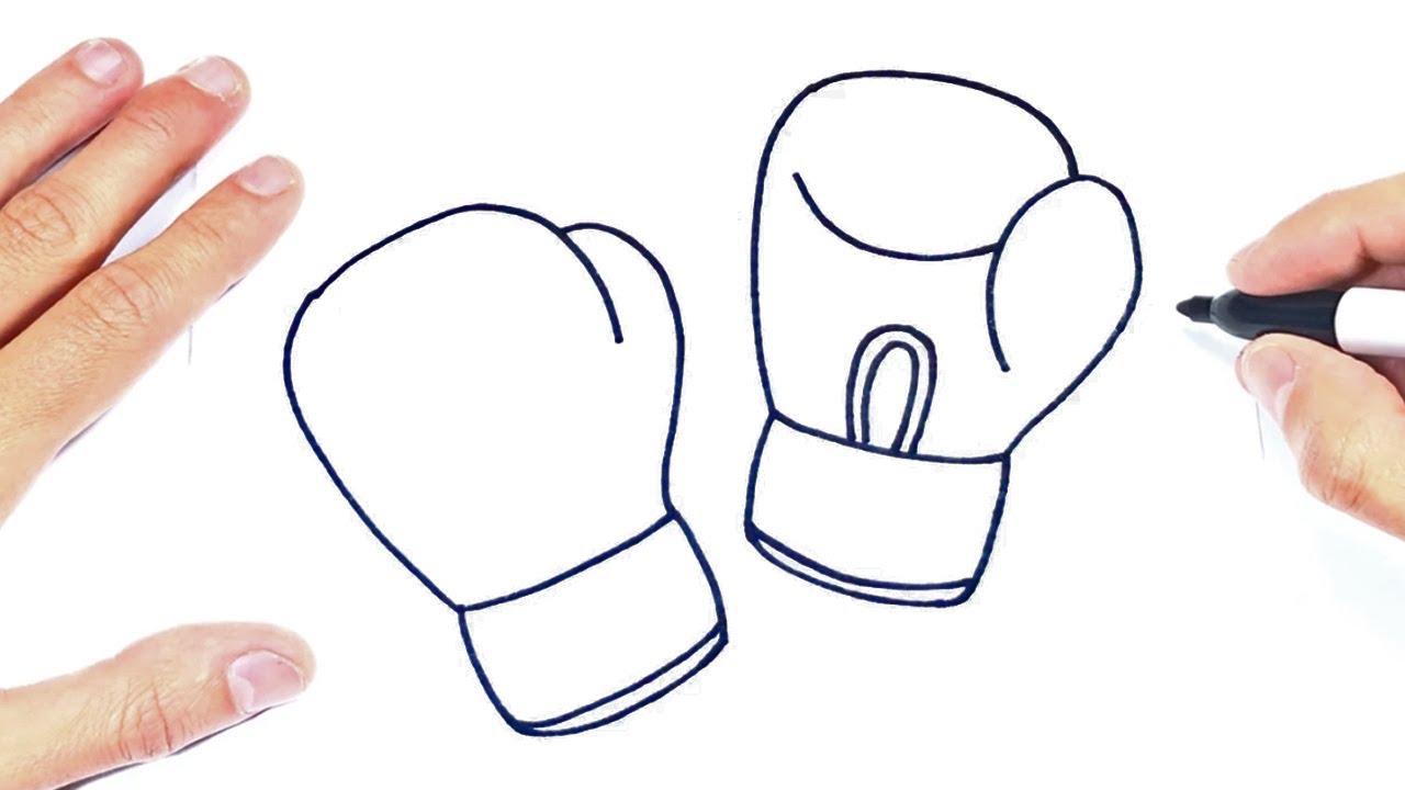 Como Dibujar Unos Guantes De Boxeo Youtube