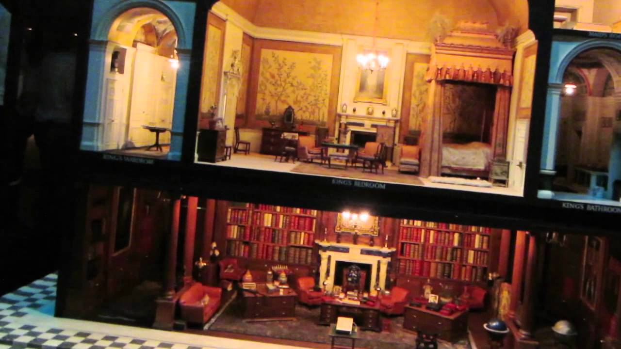 Queen Mary S Doll House At Windsor Palace Youtube