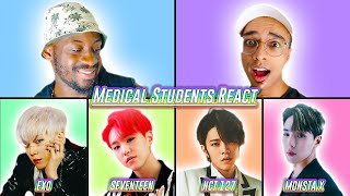 American's First Time Reacting to K-Pop Live | SEVENTEEN, EXO, NCT 127, MONSTA X [K-Pop Reaction]