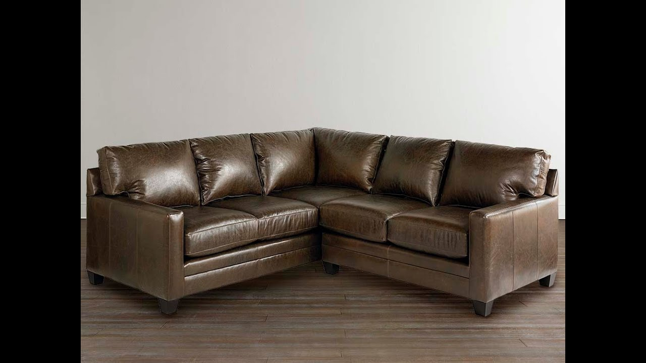 L Shaped Leather Couch Ideas  YouTube