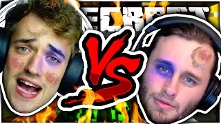 Minecraft | SSUNDEE VS CRAINER BOXING MATCH!! - Lucky Block Boxing Challenge