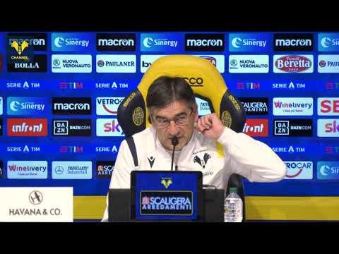 """Juric: """"Contro una 'big' come l'Atalanta giocheremo una gara tosta. Maradona? Il mio primo idolo"""""""