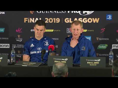 Guinness PRO14 Final - Cullen and Sexton post-match press conference