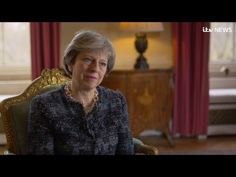Theresa May on her 'personal priority' of tackling domestic violence against women | ITV News