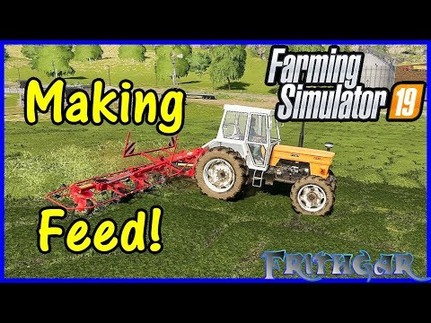Let's Play Farming Simulator 19 #76: Making Feed!