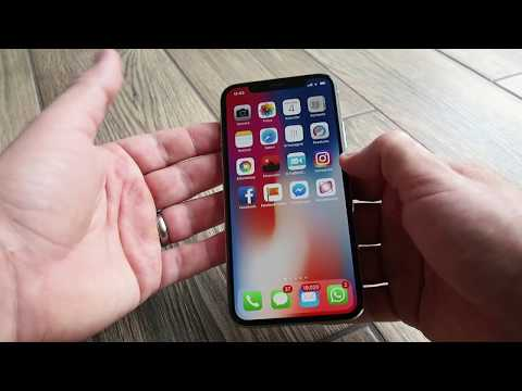 Wie mache ich einen Screenshot auf dem Apple iPhone X ? deutsch