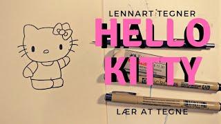 Lær At Tegne Hello Kitty - Lennart Tegner