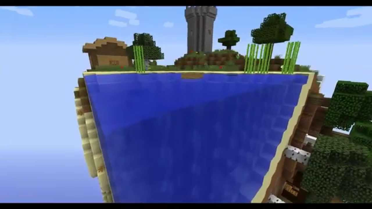 Карта Cube Block - скачать на Minecraft.