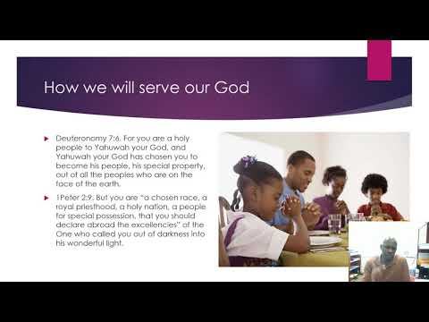 HOW WE ISRAEL WILL SERVE OUR GOD PT 02