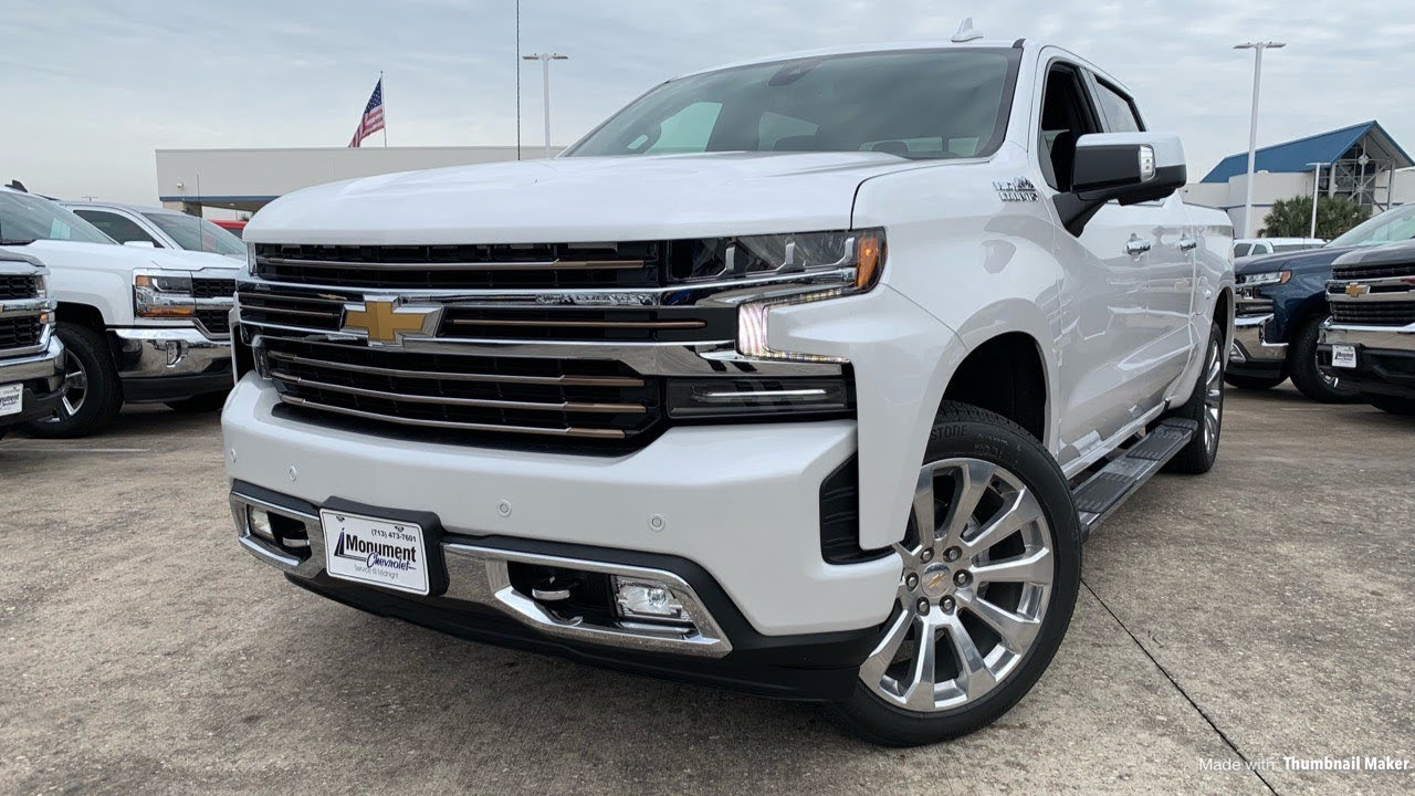 2019 Chevrolet Silverado High Country (Deluxe Package ...