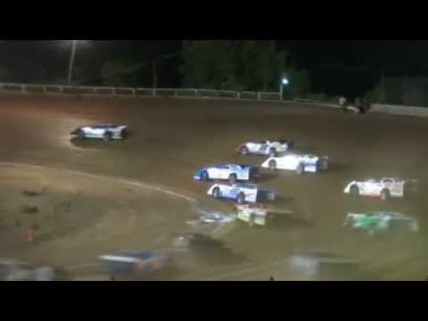 "I-77 Raceway Park Super Late Model ""Hillbilly 100 Qualifier"" 6-6-2014"