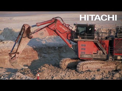 Qatar New Port Excavation – Hitachi