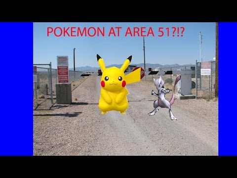 Are There Really Pokemon At Area 51? Pokemon GO Location At Area 51!