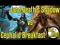 Cephalid Breakfast vs Jund Death's Shadow | Legacy MTG w/Commentary | Brainstorm MTG | Fast Effect