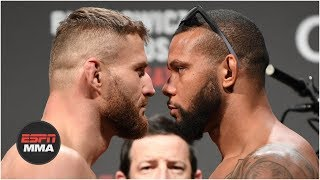 UFC Fight Night: Santos vs. Blachowicz Weigh-Ins [FULL] | ESPN MMA