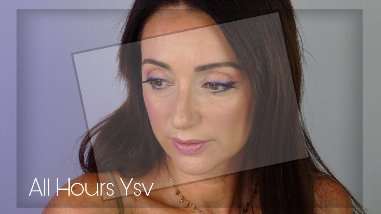 Reseña All Foundation de YVS .  Aplicación, acabado, duración