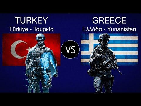 Turkey vs Greece Military Power Comparison 2021