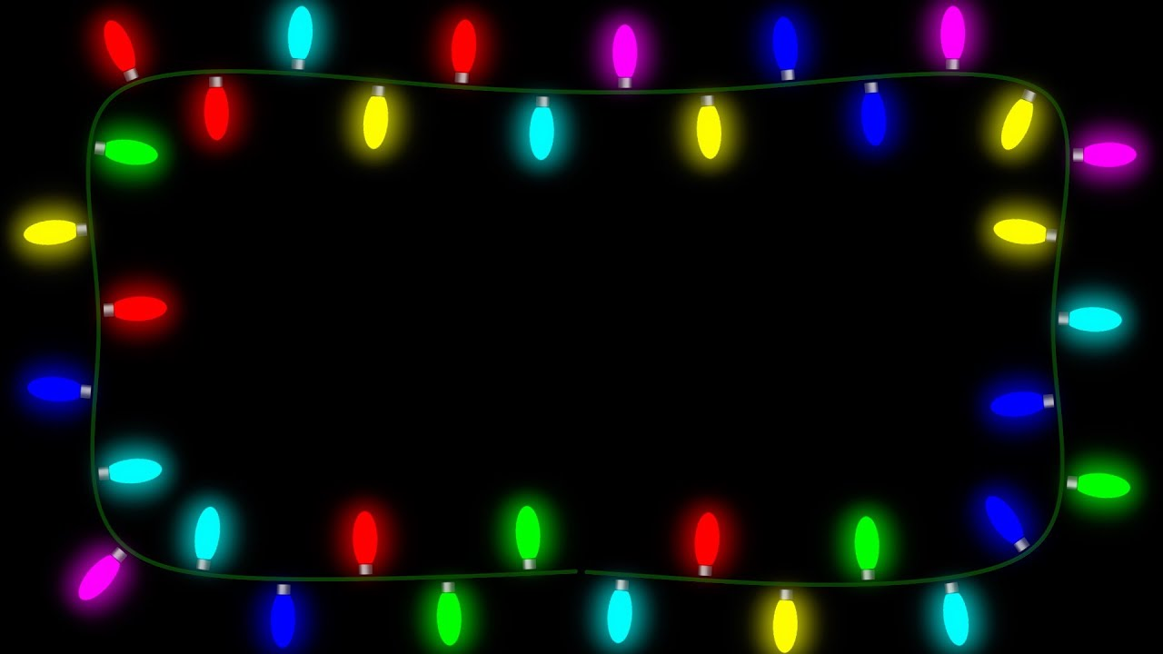 Animated christmas lights - Final Cut Pro X Fcpx Generator Christmas Lights
