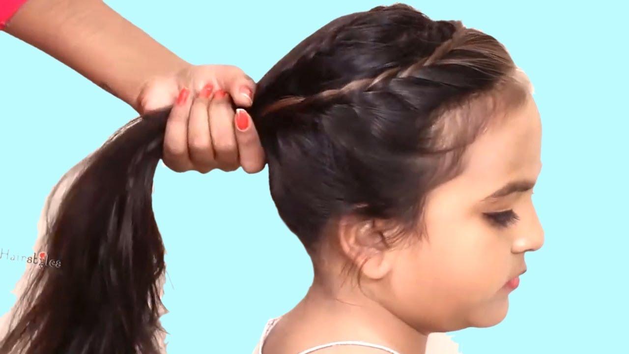 Easy Hairstyle For Medium Hair Medium Hair Hairstyle For Girls Kids Hairstyles Tutorials Youtube