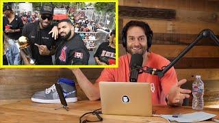 Chris D'Elia Reacts to Drake & the Toronto Raptors NBA Championship