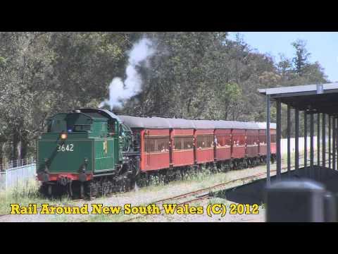Rail Around New South Wales November 2012