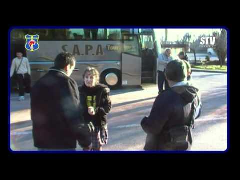 FOOTBALL CFA  AVANT MATCH FC MARTIGUES  STV TOULON  VOYAGE DES SUPPORTERS TOULONNAIS LIVE 2010