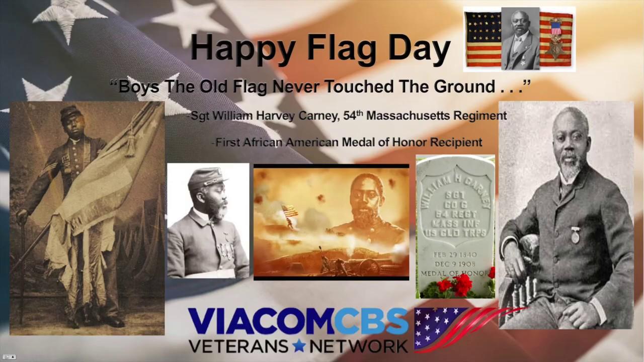 Happy Flag Day - William H. Carney