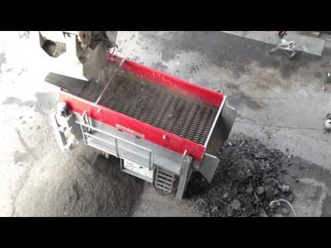 01 - Incinerator ash, bottom ash - ECOSTAR dynamic screening system