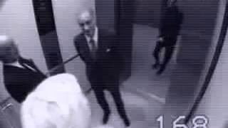 Прикол в лифте... Ржач полный!!!    PeretsCCCP#7(грузовой лифт,