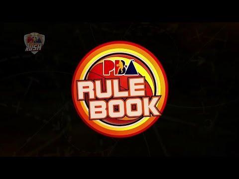 PBA Rush: PBA RULE BOOK (Illegal Back Screen Foul)