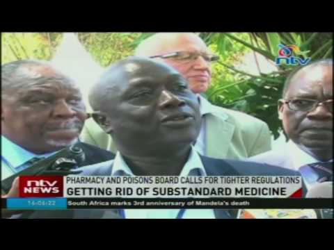 Getting rid of substandard medicine: Pharmacy and poisons board calls for tighter regulations