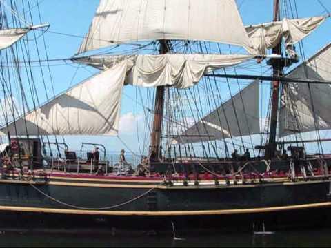 HMS Bounty on Green Bay, Lake Michigan
