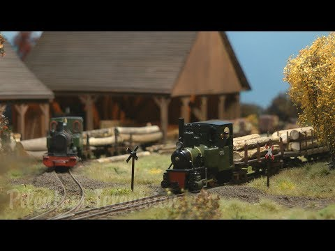 Superb Forest Model Railway and Sawmill in Narrow Gauge HO scale by Laurent Vandermotte from YouTube · Duration:  4 minutes 6 seconds