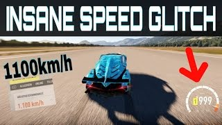 Driving over 1100km/h !!! | Forza Horizon 2 | Insane NEW Topspeed Glitch!!