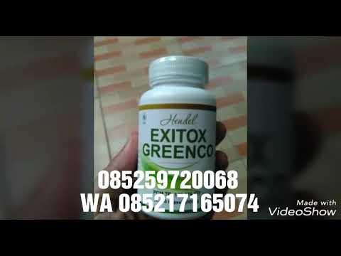 Exitox Greenco | Harga Exitox Greenco Asli Supplement Pelangsing Herbal di Makassar 085259720068 from YouTube · Duration:  1 minutes 1 seconds