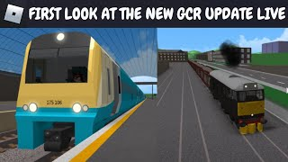 (ROBLOX) FIRST LOOK AT THE NEW GCR UPDATE LIVE!!!