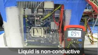 Boiling Liquid Submersion Cooling Computer (not submerged in mineral oil)