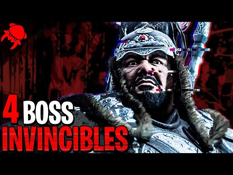 4 Boss INVINCIBLES qui ont quelque chose à RACONTER