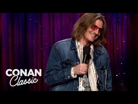 Randy Baumann & the DVE Morning Show - Conan's YouTube Channel Shared a Mitch Hedberg Set from 2004