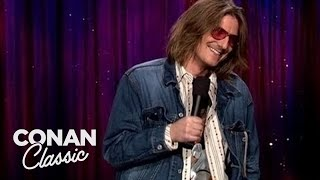Mitch Hedberg: I Wish They Made Fajita Cologne -  Late Night With Conan O'Brien