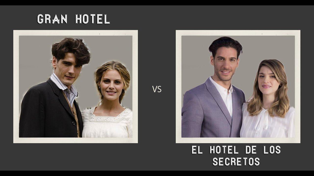 Gran hotel vs el hotel de los secretos elenco youtube for Bazzel el jardin de los secretos