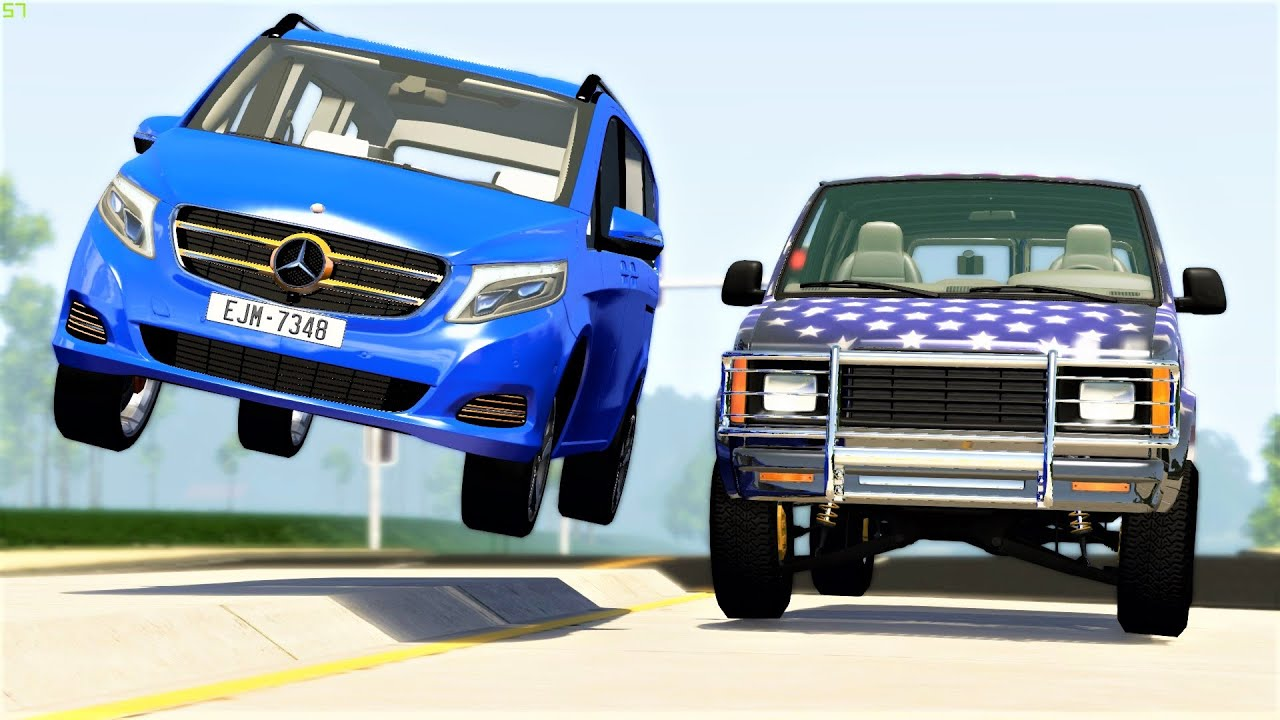 High Speed Street Racing & Crashes #29 - BeamNG Drive | CRASHdriven