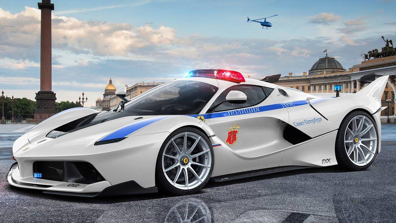 Ferrari Fxx K Russian Police Edition Youtube