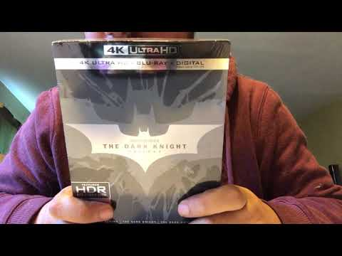 The Dark Knight Trilogy 4K Ultra HD Blu-Ray Unboxing