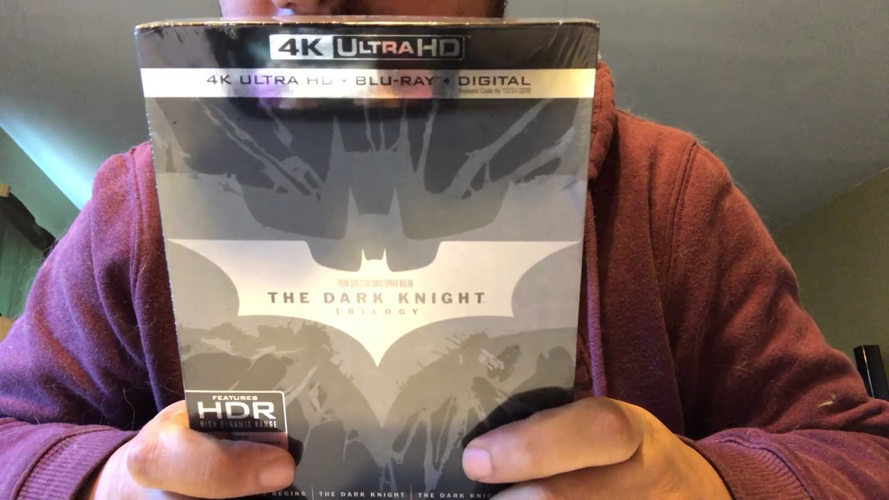 The Dark Knight Trilogy 4k Ultra Hd Blu Ray Unboxing Youtube